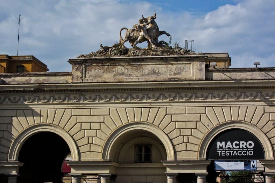 Old slaughterhouse, now MACRO al Mattatoio in Testaccio