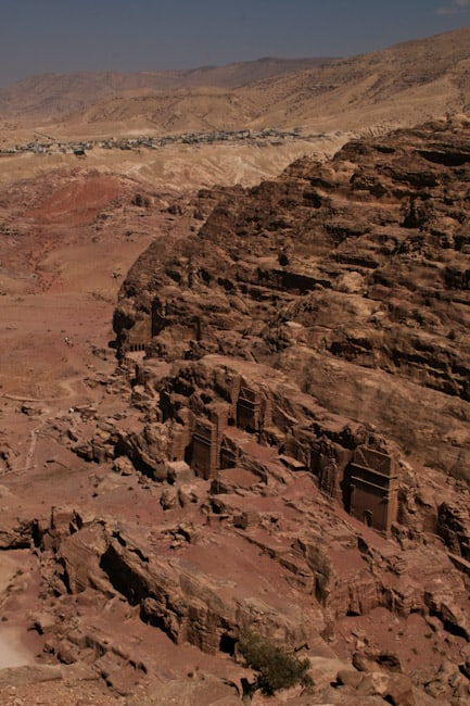 View from the High Place, Petra