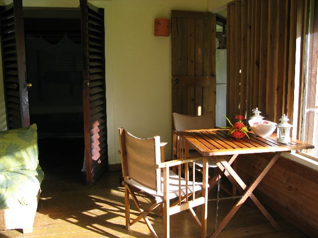 """House-sitting a beach front villa, my """"office"""" in the Caribbean"""