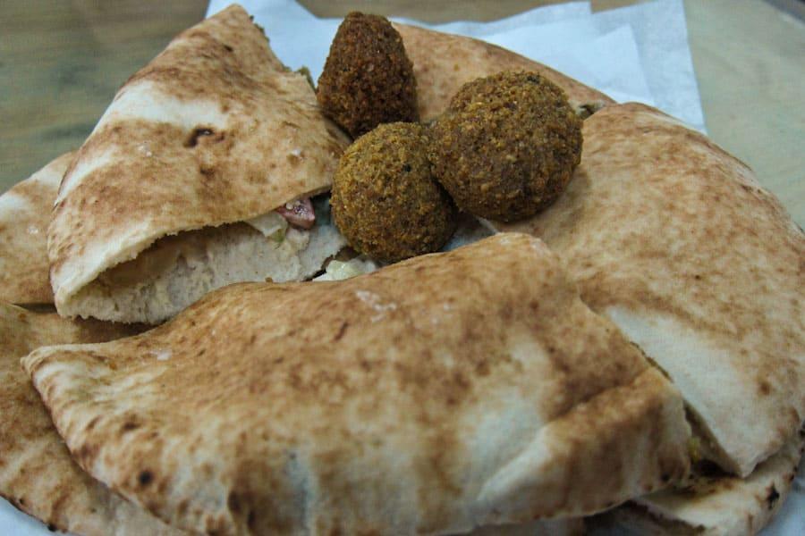 Falafel at Al Muhandas, Aqaba
