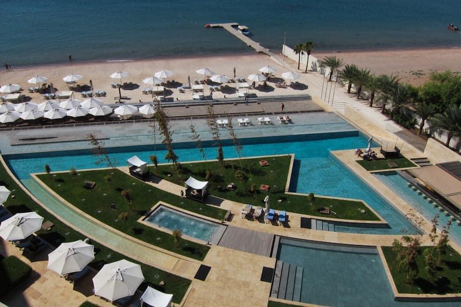 Kempinski Aqaba pool