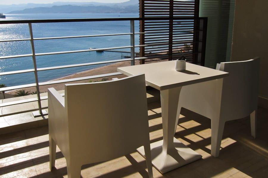 Kempinski Aqaba balcony