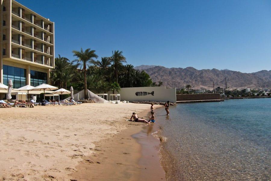 Kempinski Hotel Beach, Aqaba