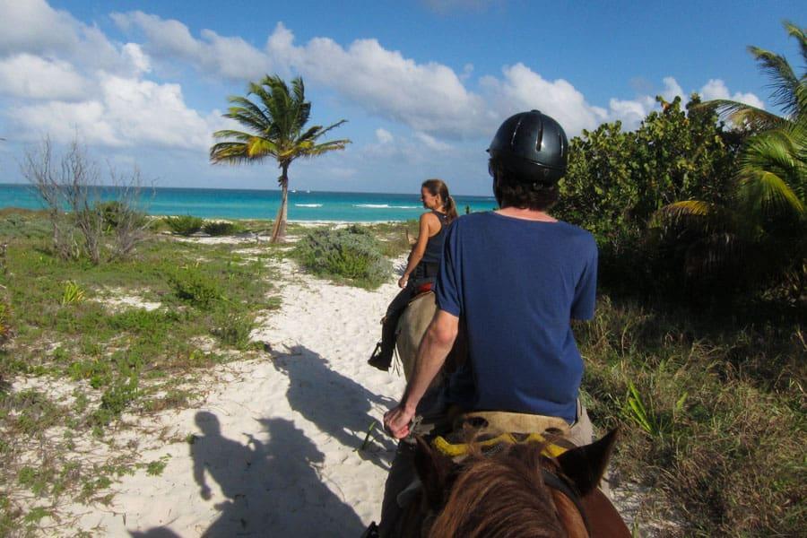 Horse riding Playa del Carmen