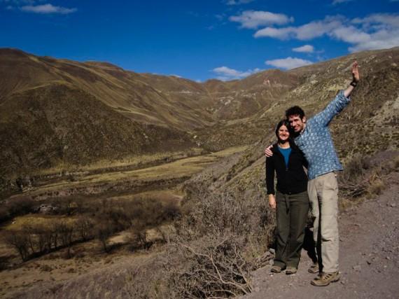 Simon and Erin in Northwest Argentina