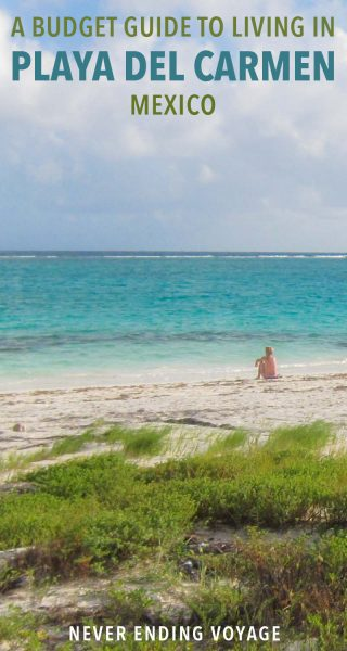 How much does it cost to live in Playa del Carmen, Mexico? Here's a budget breakdown of our living expenses.