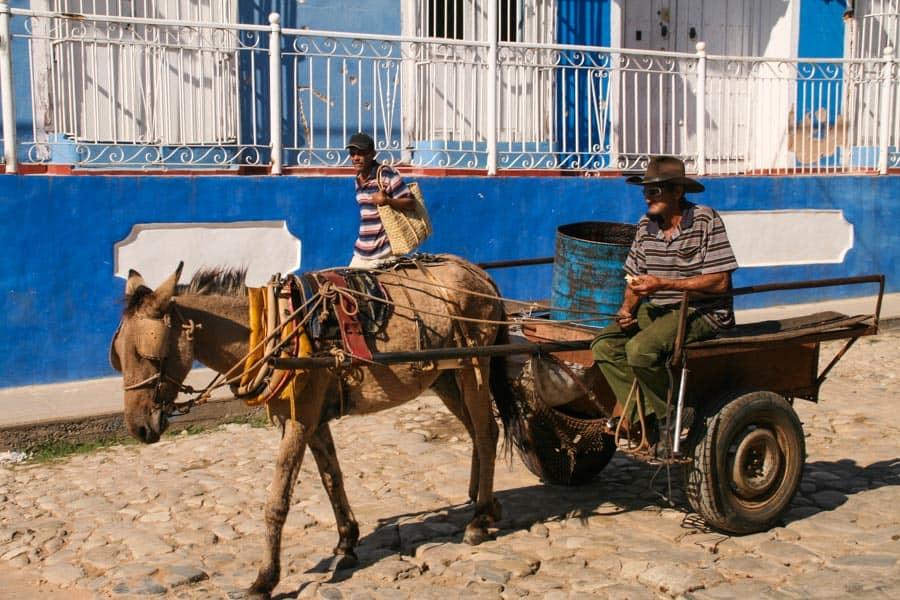 Horse cart, Trinidad, Cuba