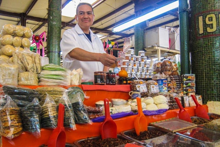 Oaxaca stall