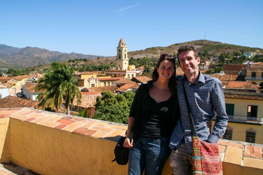 Us in Trinidad, Cuba