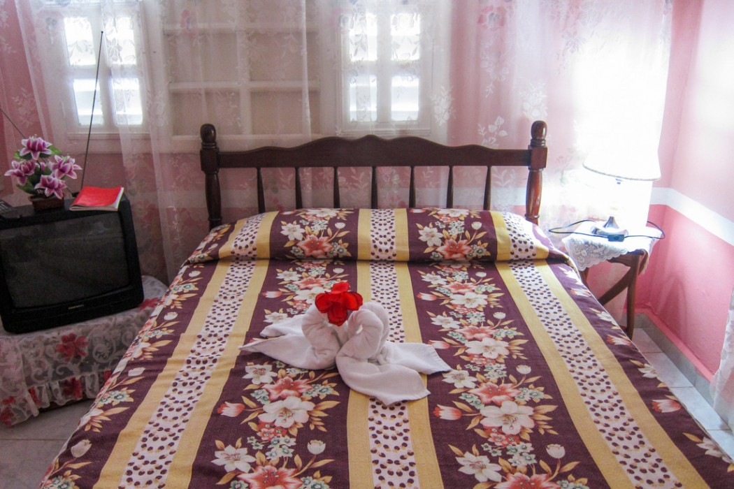 Casa Particular room in Trinidad, Cuba
