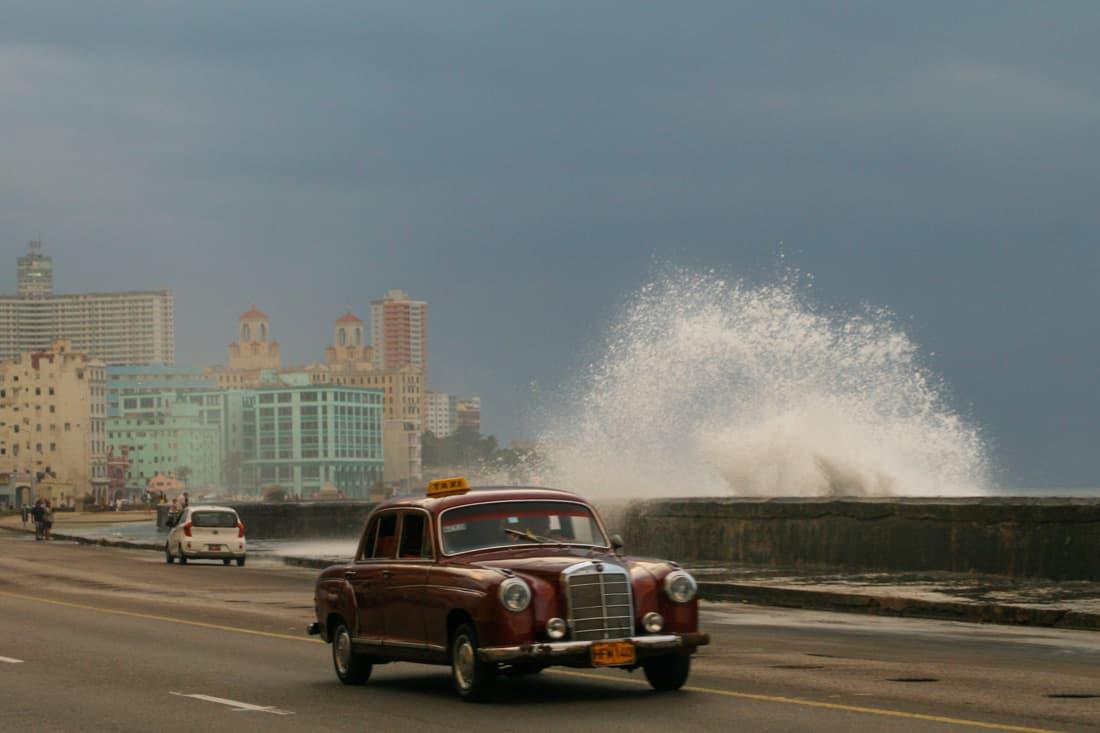 The Malecon in Havana, Cuba