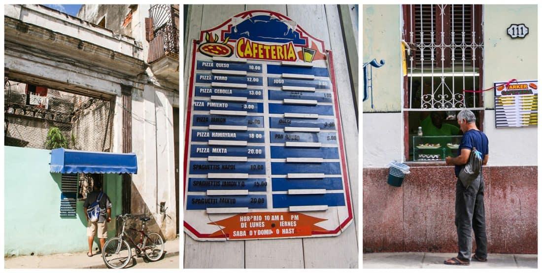 Cuban cafeterias