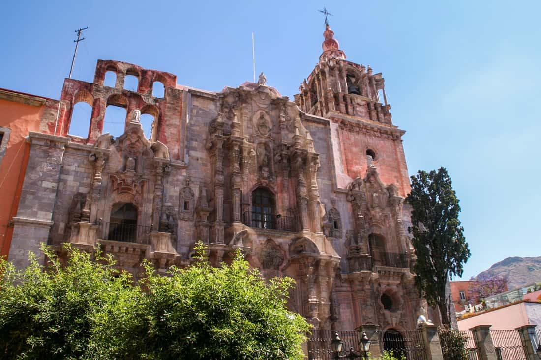 Templo de la Compañía, Guanajuato