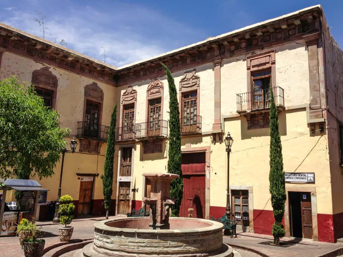 Plaza in Guanajuato, Mexico