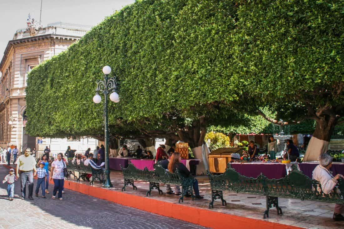 Jardin de la Union, Guanajuato