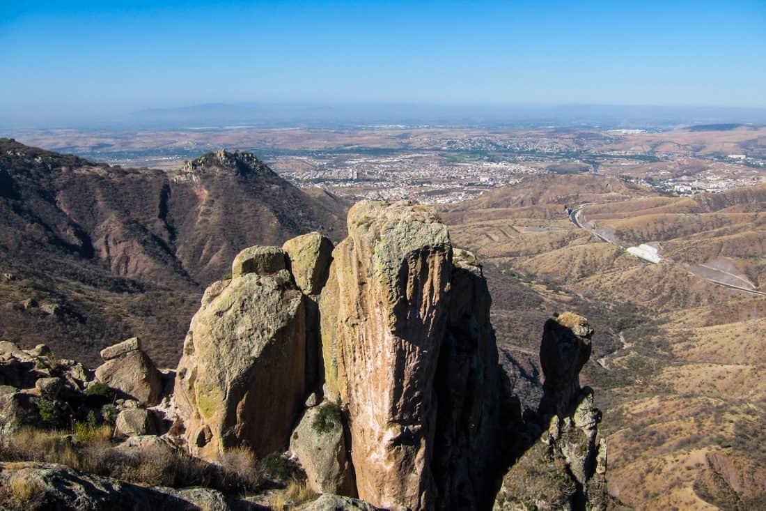 View from La Bufa, Guanajuato