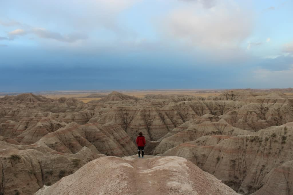 Brianna in the Badlands