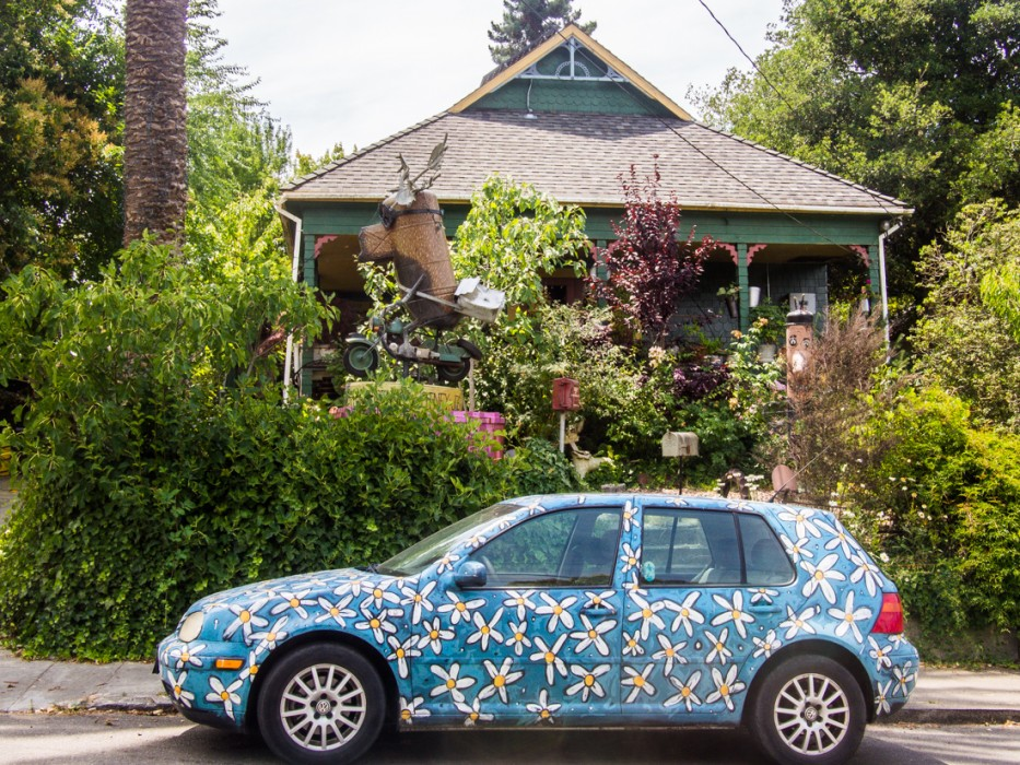 Patrick Amiot house, Florence Avenue, Sebastopol, CA