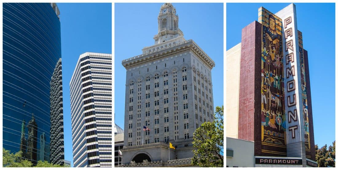 Downtown Oakland buildings