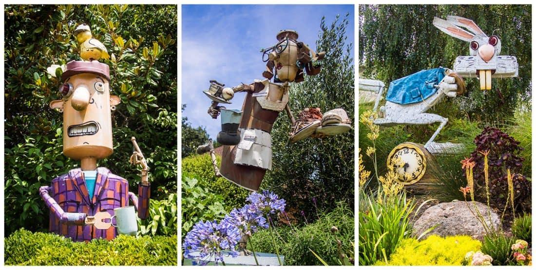 Patrick Amiot Junk Sculptures, Florence Avenue, Sebastopol, CA