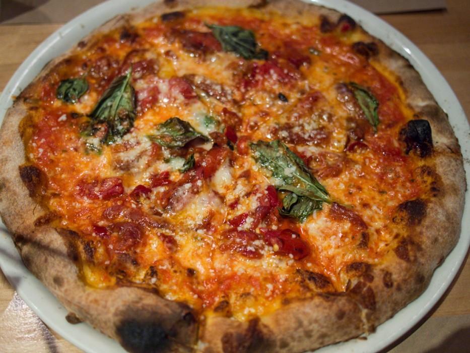 Diavola pizza, Geyserville