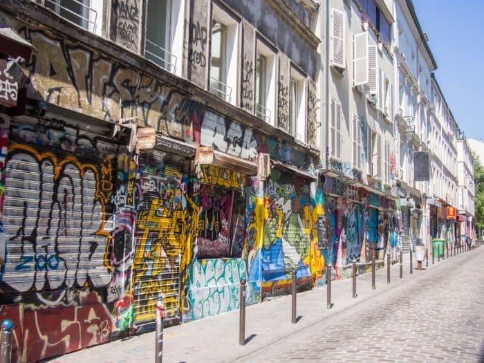 Rue Dénoyez, Belleville, Paris
