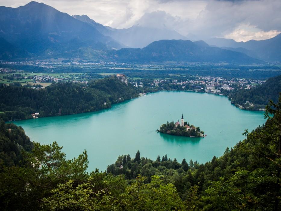 Velika Osojnica view, Lake Bled