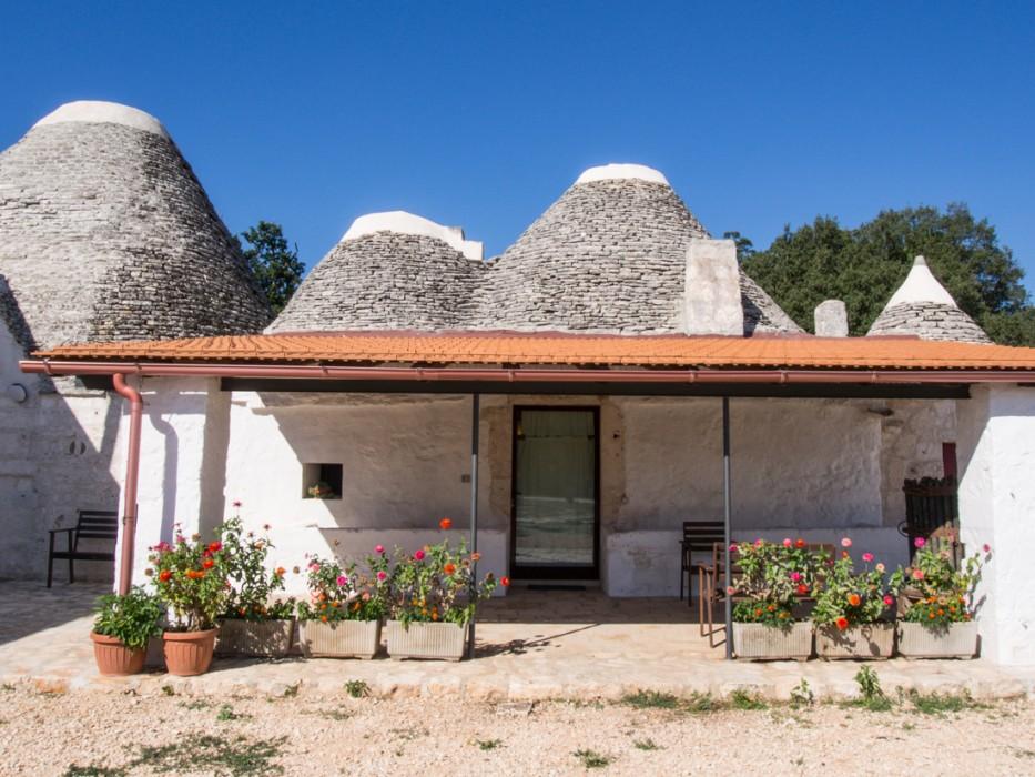 Our trulli at Masseria Ferri in Valle d'Itria