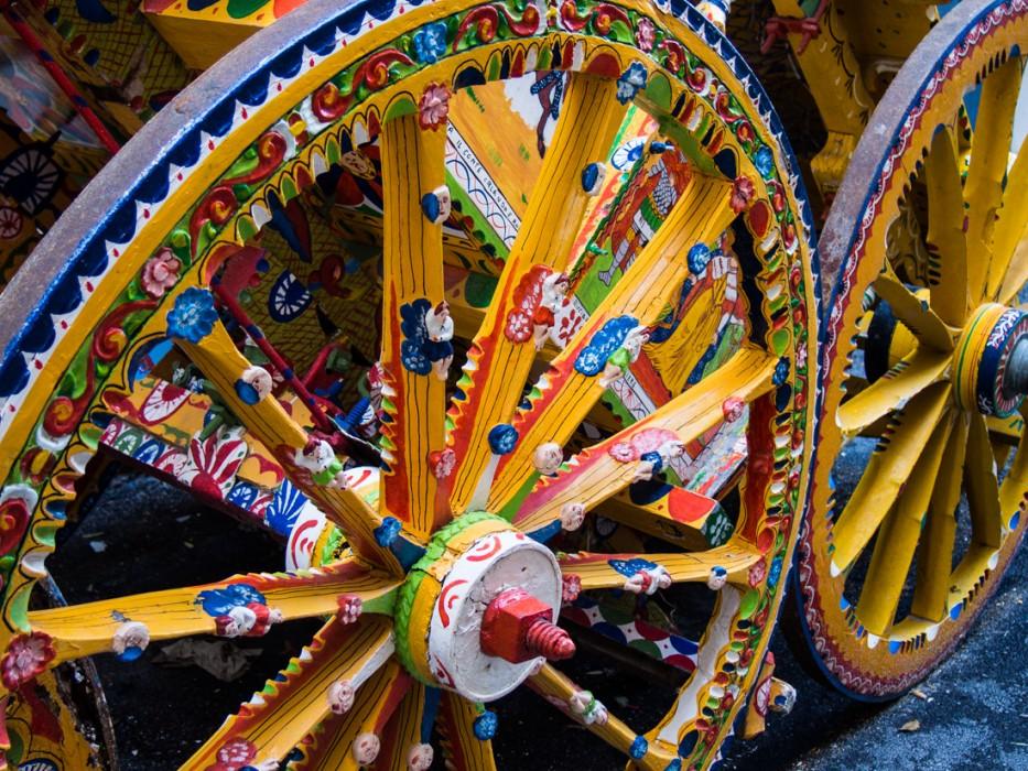 Franco Bertolino painted wheel