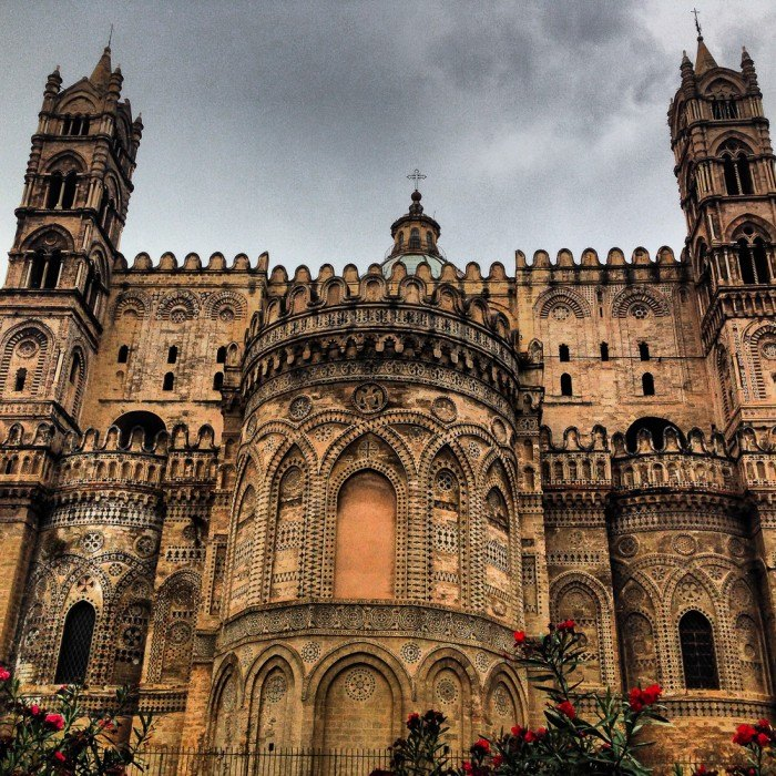 Palermo cathedral apse