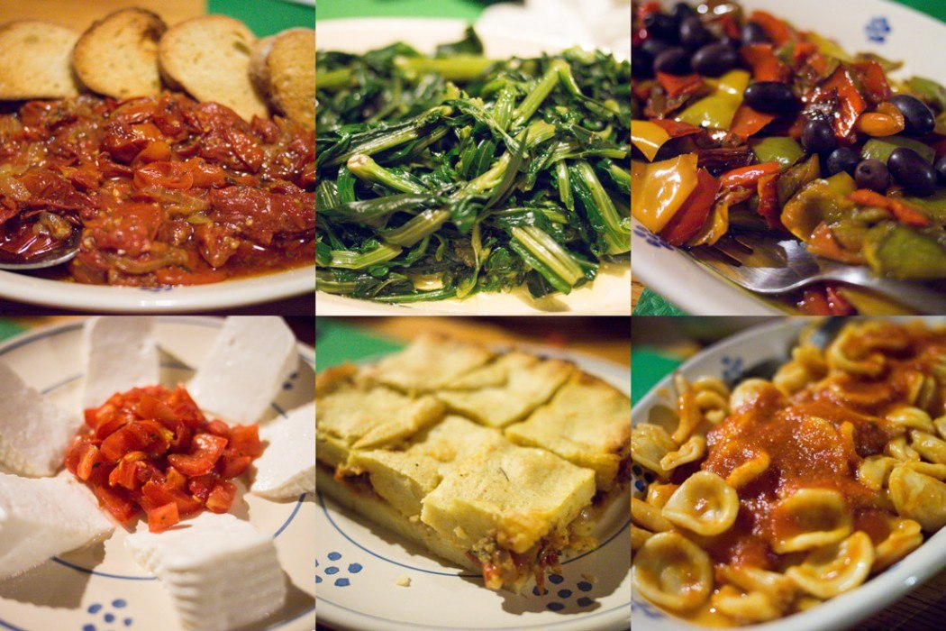 Some of the tasty things we ate at Masseria Sant'Angelo