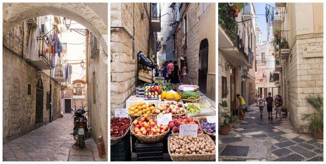 Bari Vecchia, one of the best Puglia towns to visit in Italy
