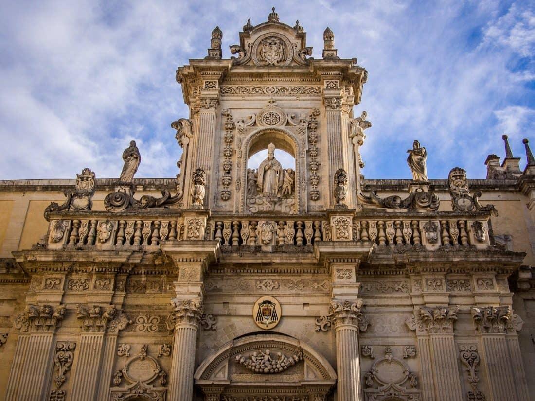 Lecce's baroque cathedral, Puglia