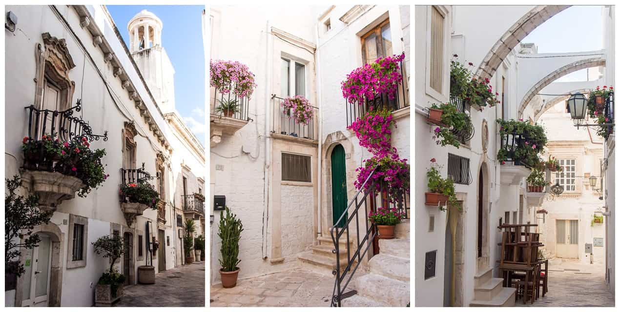 Locorotondo, one of the most beautiful towns in Puglia, Italy