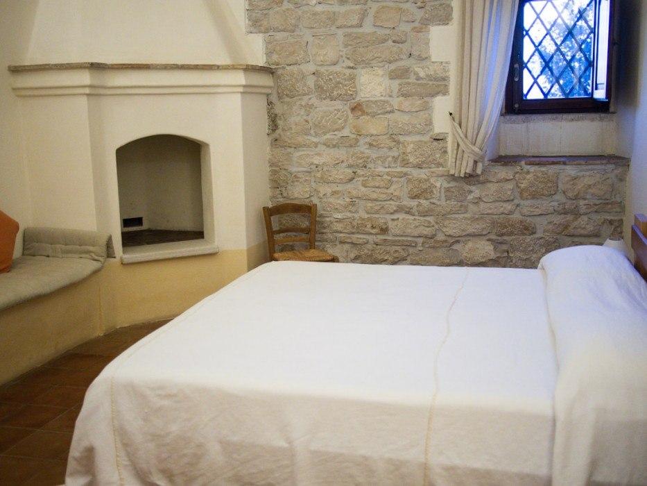 Our bedroom at Masseria Lama di Luna
