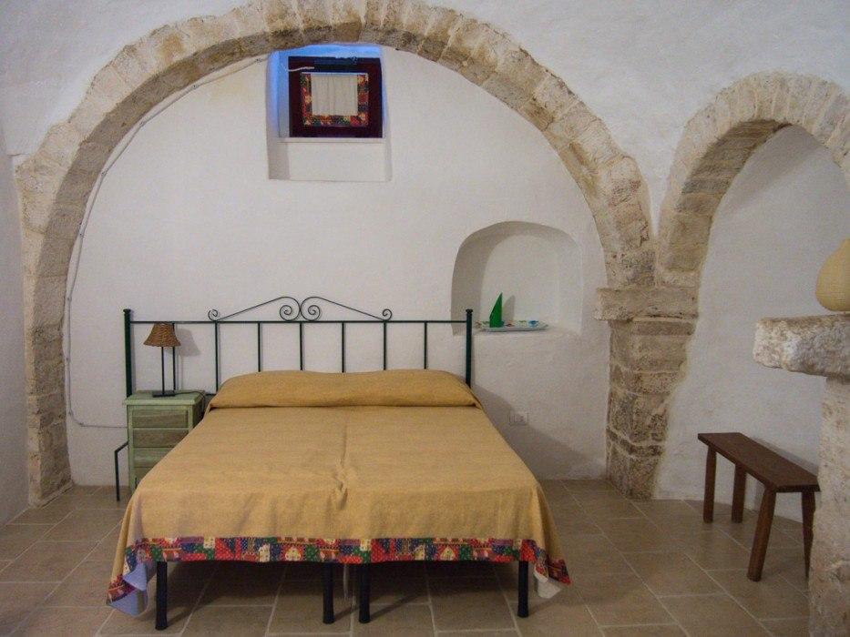 Our trulli room at Masseria Ferri