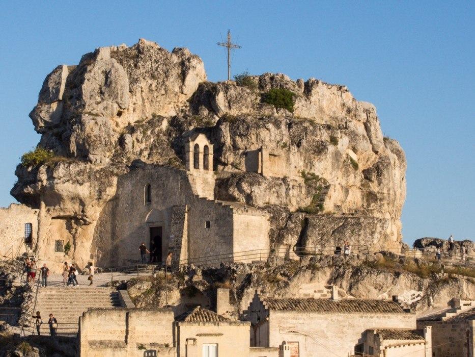 The cave church Madonna de Idris, Matera