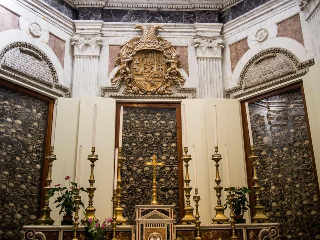 Skull chapel, Otranto cathedral