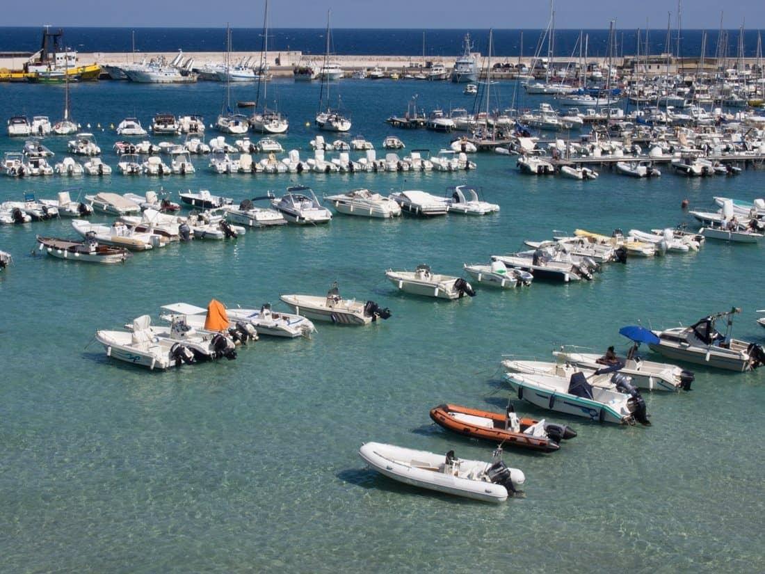 Otranto harbour, Puglia