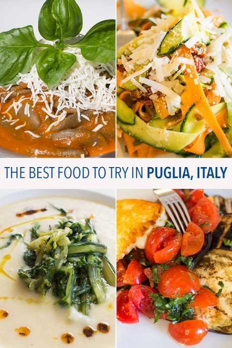 A guide to the best food to try in Puglia, Italy including regional specialities and why Puglia is the most vegetarian-friendly region of Italy.