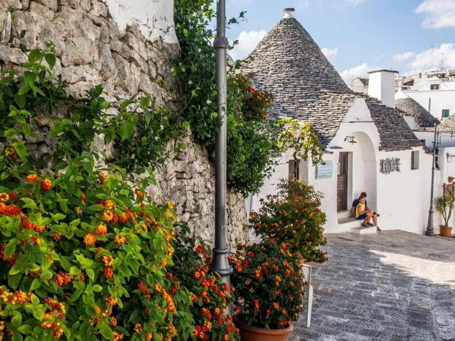 Alberobello trulli, Puglia