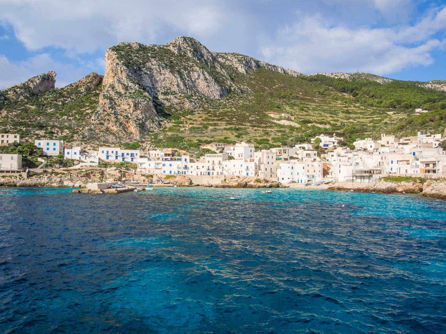 Levanzo, one of the Egadi Islands near Trapani is a Western Sicily highlight