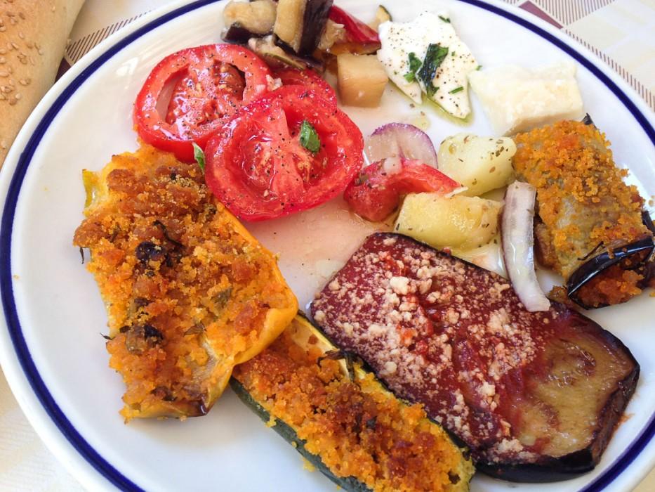 Antipasti buffet Zia Pina