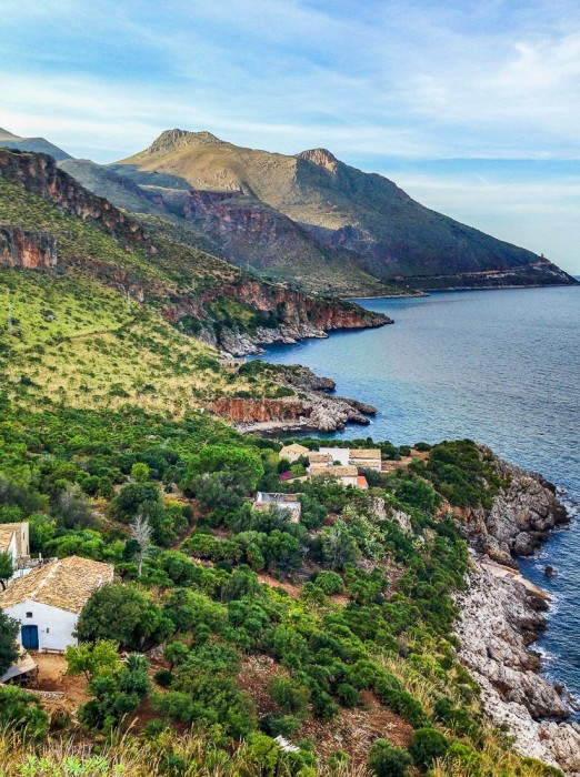 Views on the coastal walk at Lo Zingaro