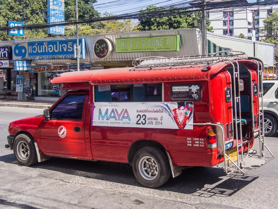 Songthaew in Chiang Mai