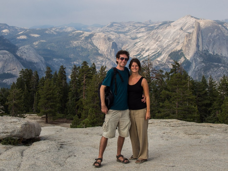 Erin and Simon at Sentinel Dome