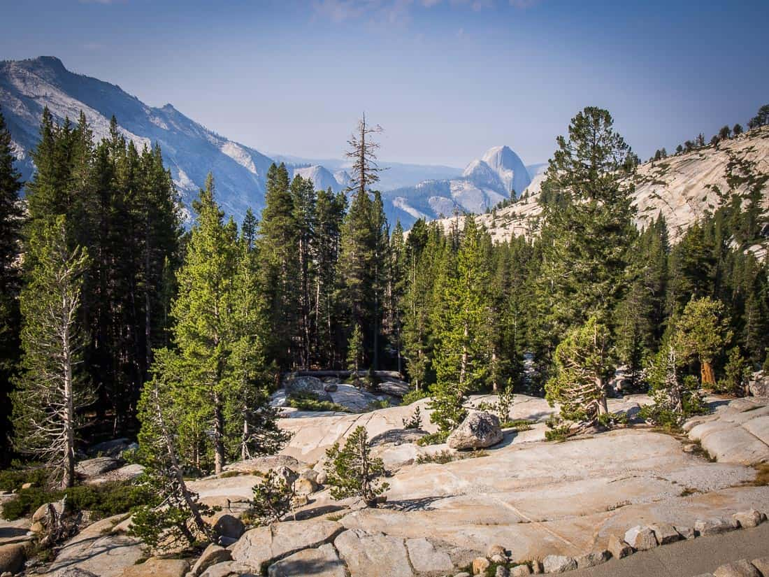 Olmsted Point on Tioga Rd, Yosemite