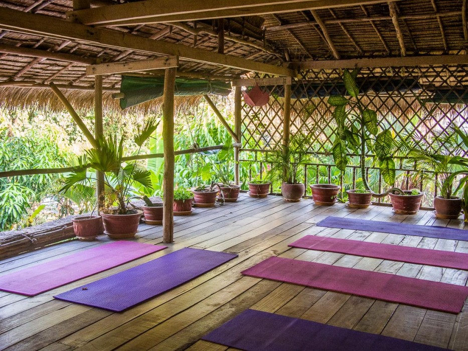 Banteay Srey spa yoga studio, Kampot, Cambodia