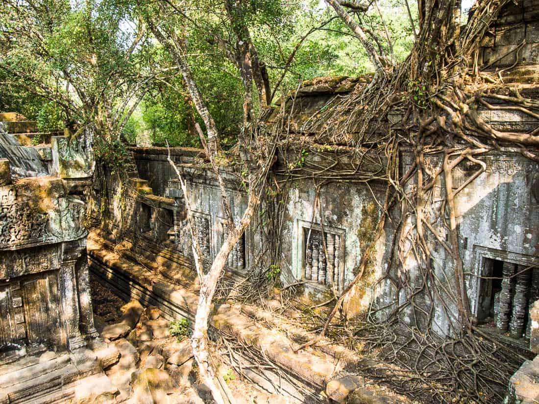 Beng Mealea, jungle temple Angkor, Cambodia