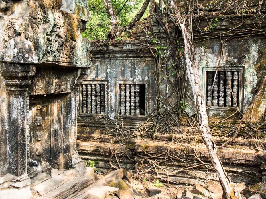 Beng Mealea, jungle temple at Angkor, Cambodia
